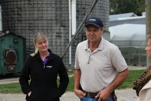 Jeff and Pam Meyer of Cal Ann Basil Farm