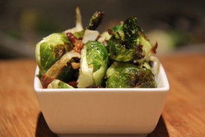 Roasted Brussel Sprouts - Sharmin Meadows