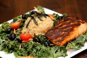 Kale Salmon_Blue Moose and Barleys