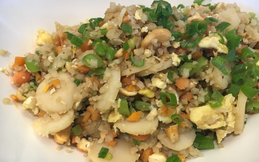 Cauliflower Fried Rice with Cashews