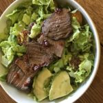 chipotle steak and avocado salad