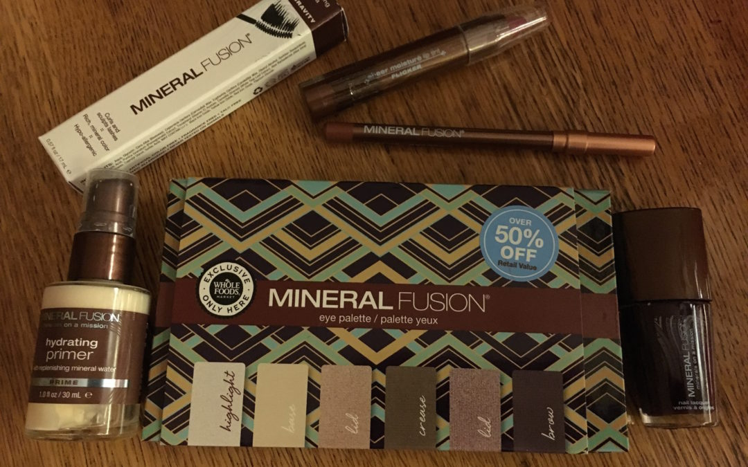 Look Gorgeous with Minimal Effort using Mineral Fusion Makeup