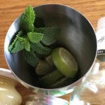 mint and lime mojito