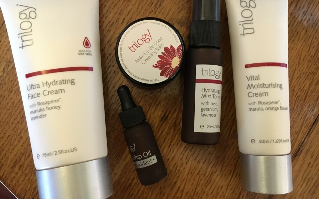 Hydrate Dry Skin with The Trilogy Advanced Skincare Line