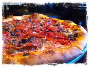 SPIN Neapolitan Pizza hand tossed pizza