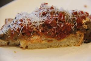 Tomato Braised Eggplant and Ricotta