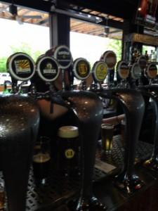 Beer Taps at Gordon Biersch