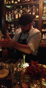Craft Bartender Michael Strohm