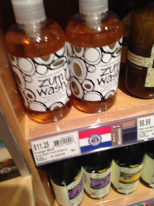 Local Zum Soap made in Kansas City