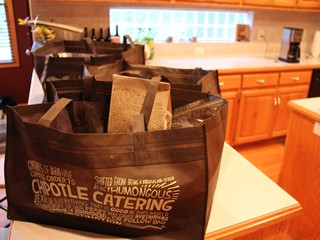 2chipotle cater bag