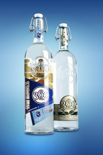 360 Vodka Royals Bottle