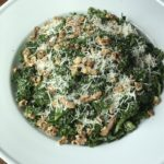 Kale Salad with Parmesan Dressing