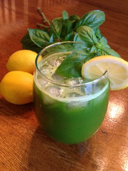 Basil Lemon Cooler