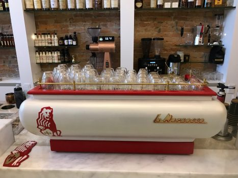 LaMarzocco coffee machine