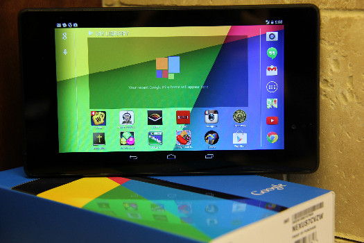 The Nexus 7 by Google
