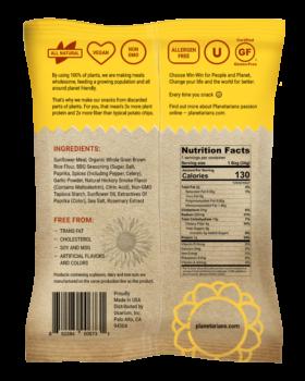 Planetarian Sunflower Chips