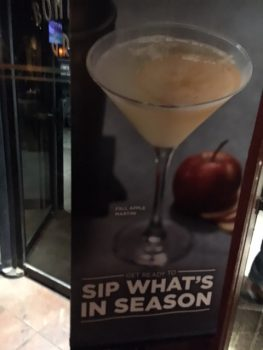 Bonefish Grill Apple Martini