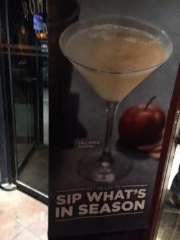 Bonefish Grill Apple Martini