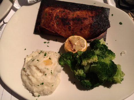 Bonefish Grill Bourbon Cedar Plank Salmon