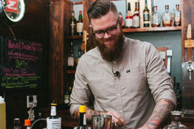 Andrew Olsen from Cleaver and Cork shares Award Winning Cocktail